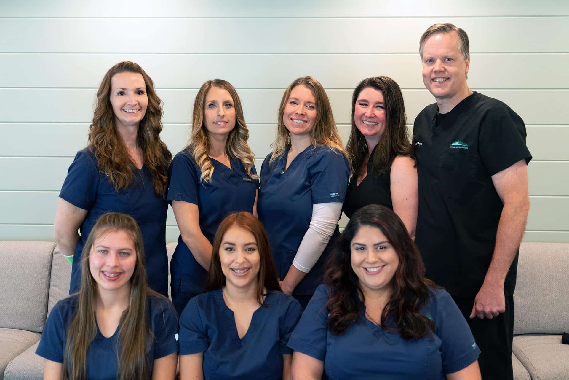 Dr. Michael H. Payne and the American River Orthodontics team